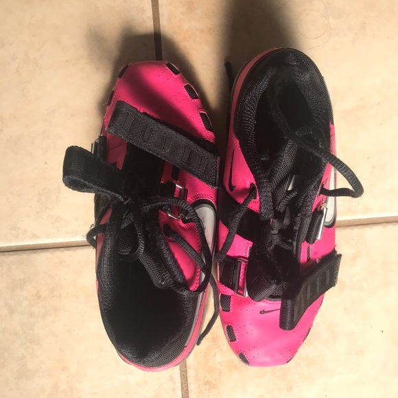 Weightlifting Shoes Nike Romaleos 2 pink